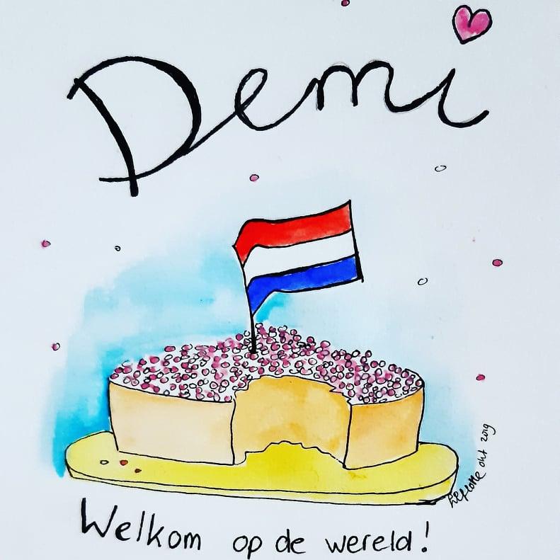Geoortekaartje Demi