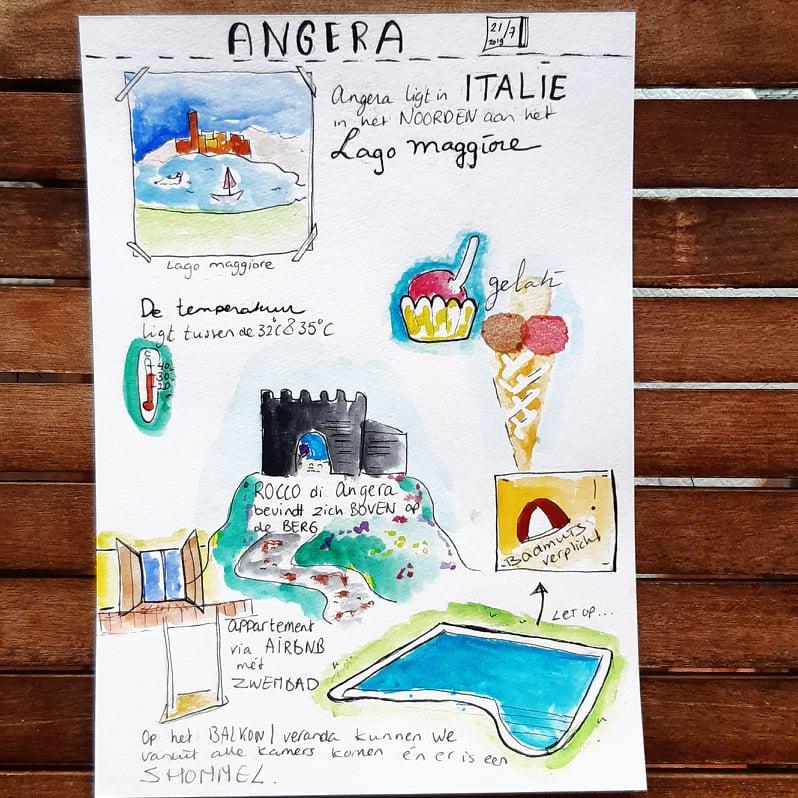 Liflotte Dagboek Italie Angera 28-8-2019