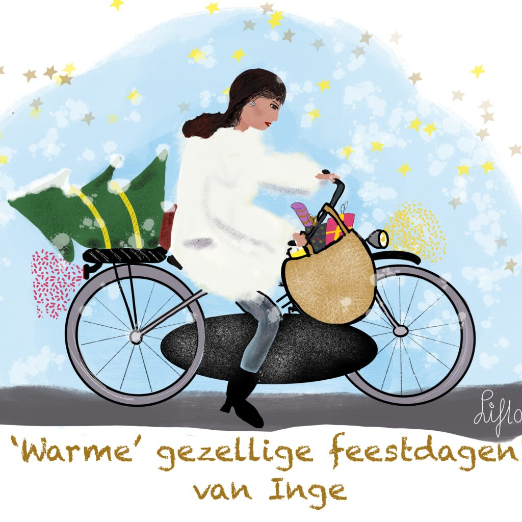 Liflotte Kerstkaart Inge 2020
