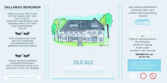 Liflotte Landgoed de UItkijk Bier etiket 2019