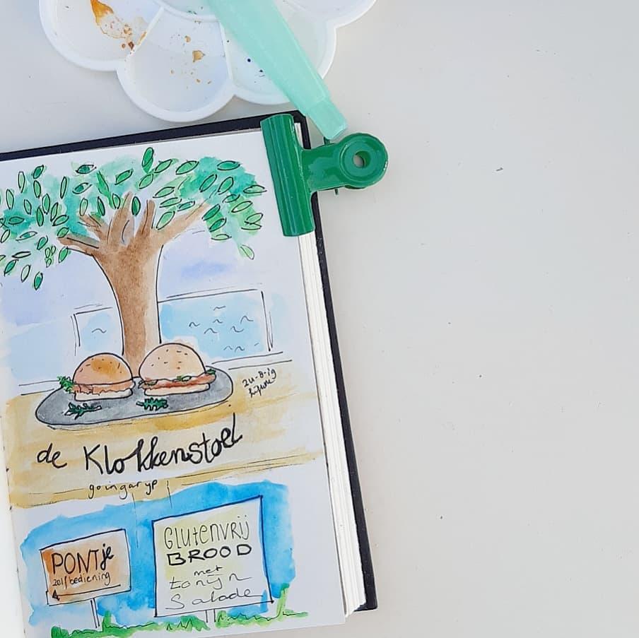 Liflotte dagboek 2019 Klokkestoel