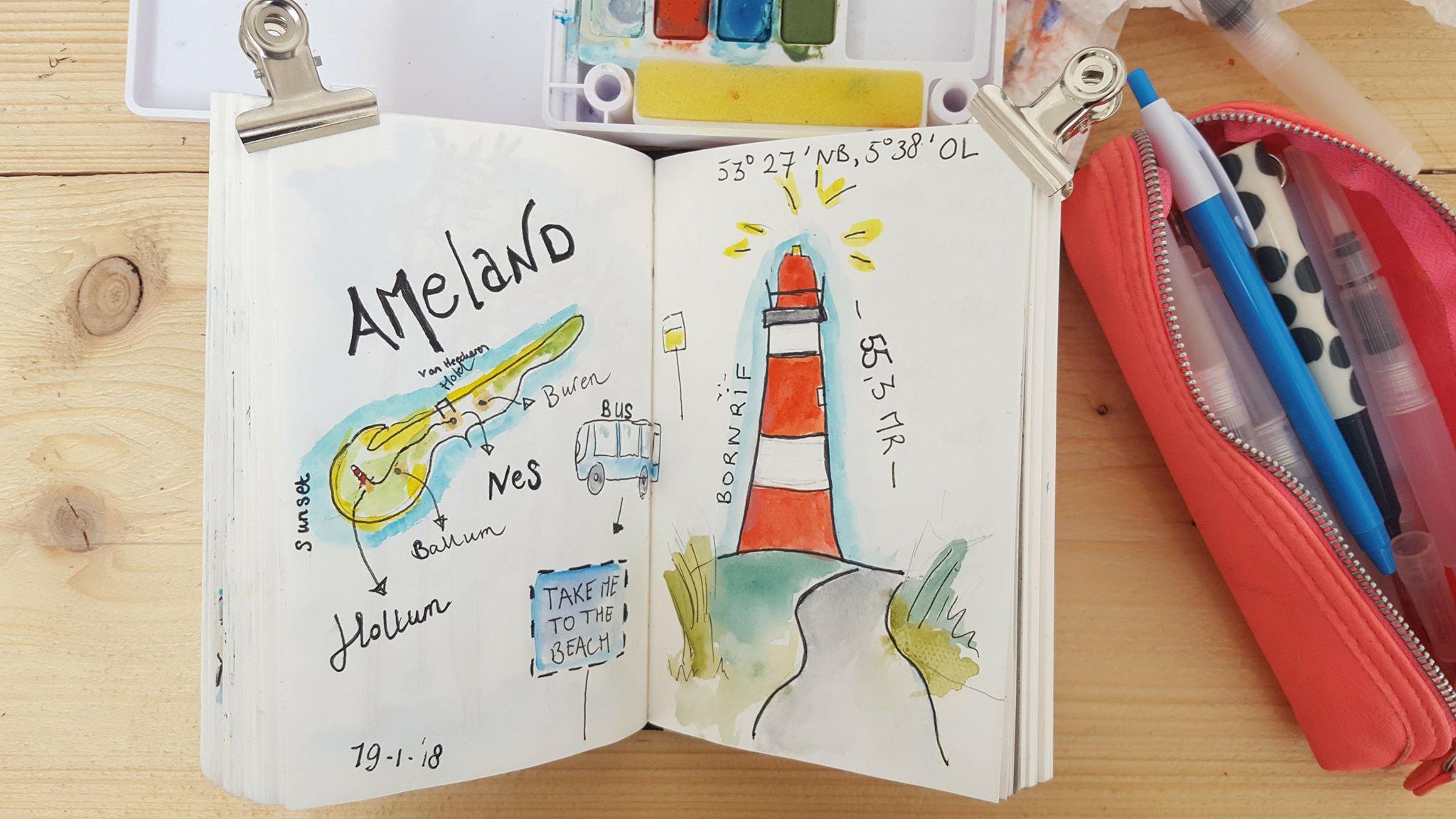 Liflotte dagboek Ameland 2019