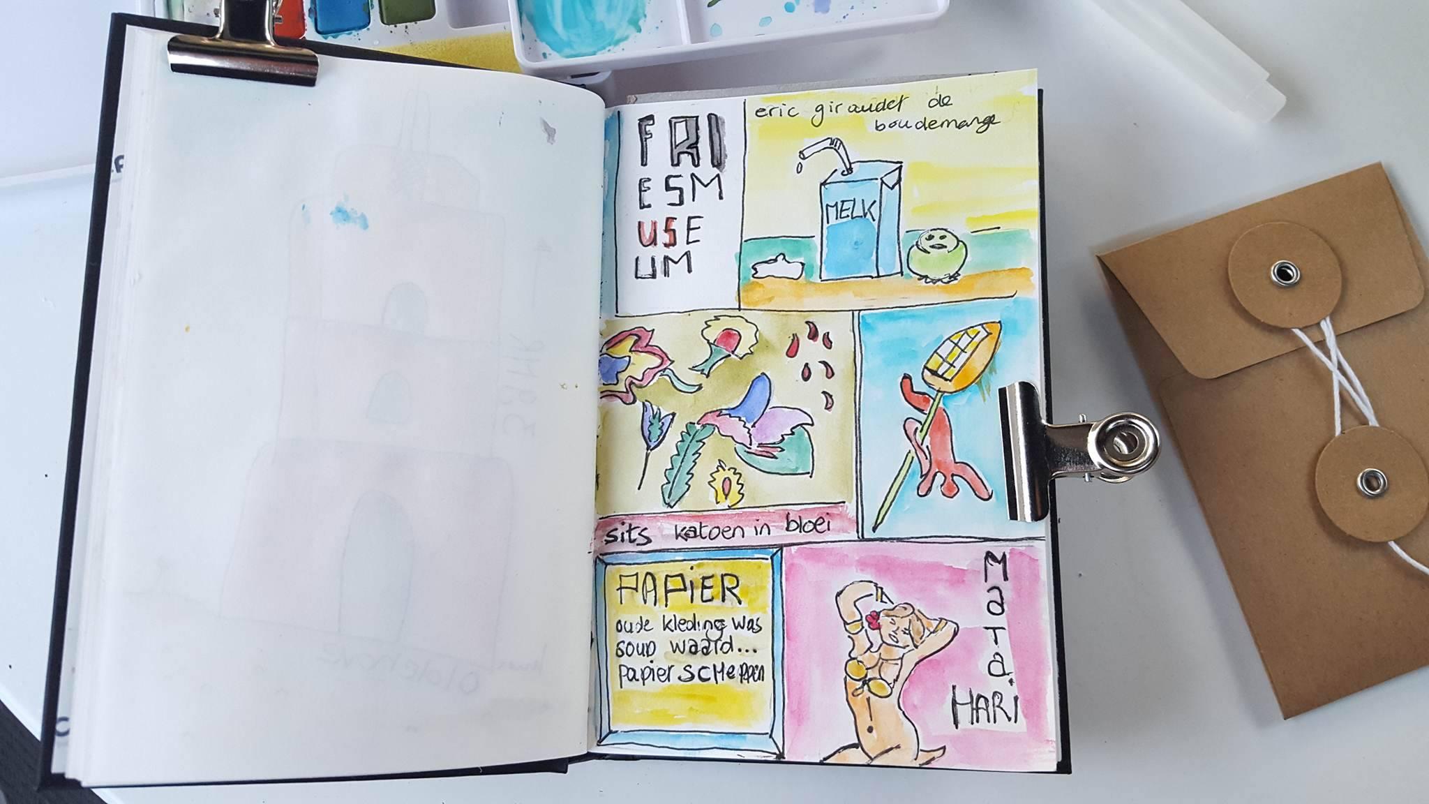 Liflotte dagboek Fries Museum 2017