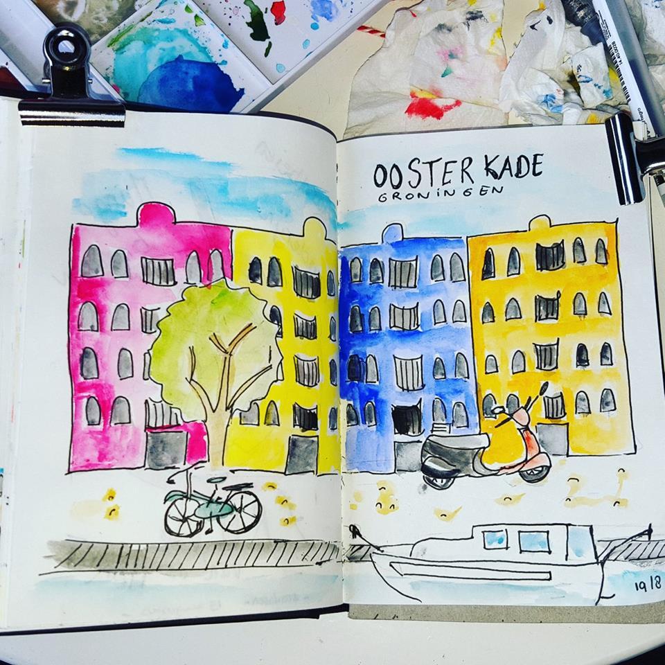 Liflotte dagboek Groningen 2017