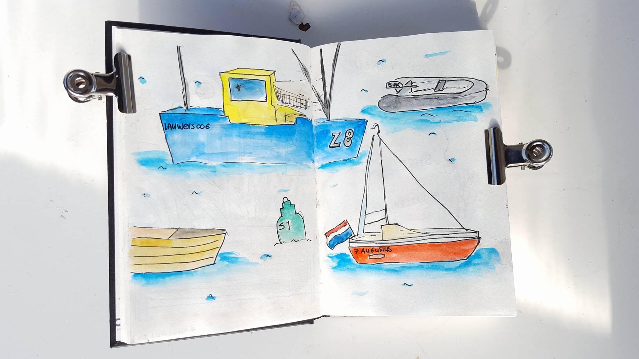 Liflotte dagboek Lauwersoog 2017