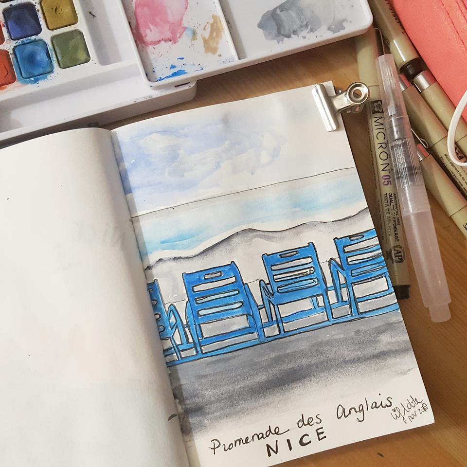 Liflotte dagboek Nice stoeltjes 2018