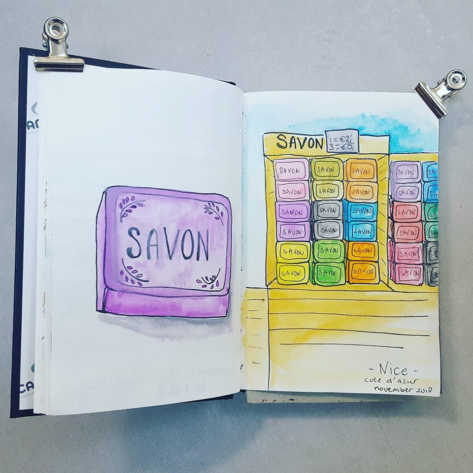 Liflotte dagboek Nice zeepjes 2018
