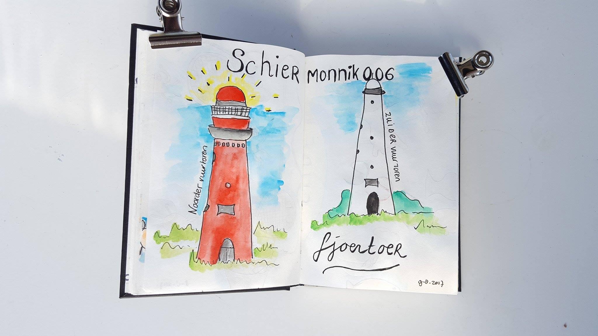 Liflotte dagboek Schier fjoertoer 2017