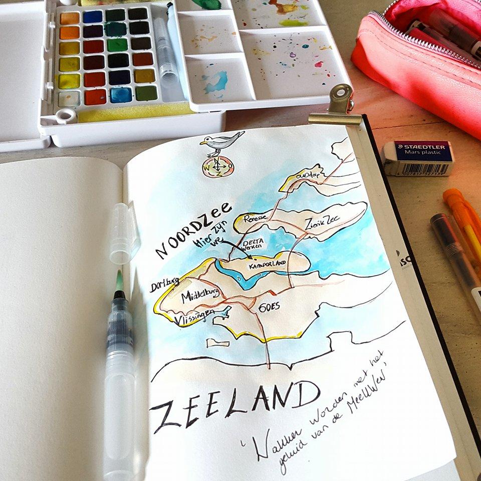 Liflotte dagboek Zeeland 2016