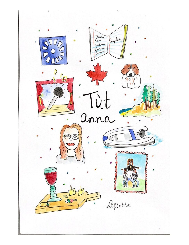 Liflotte favo kaart Anna 2020