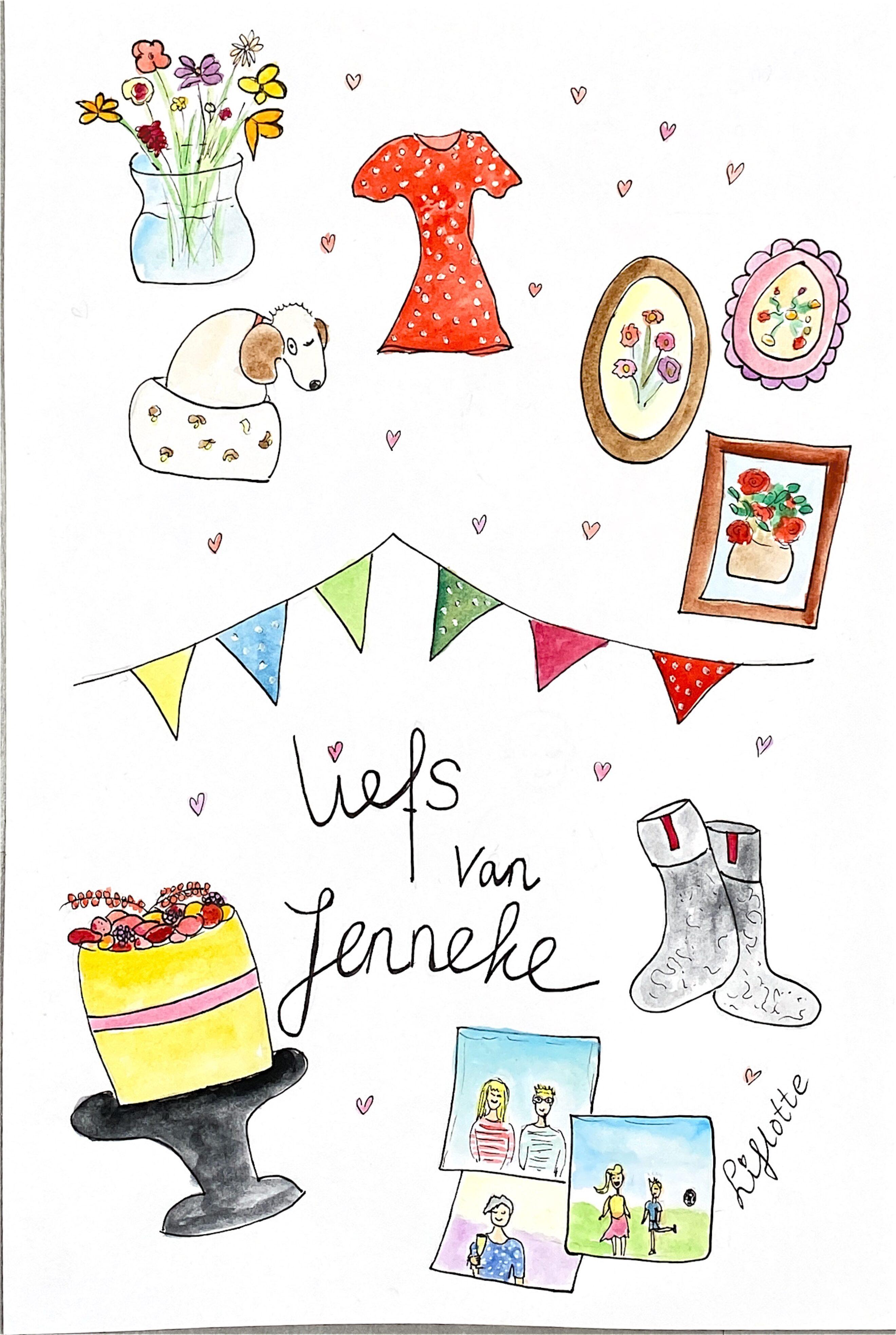 Liflotte favo kaart Jenneke 2020