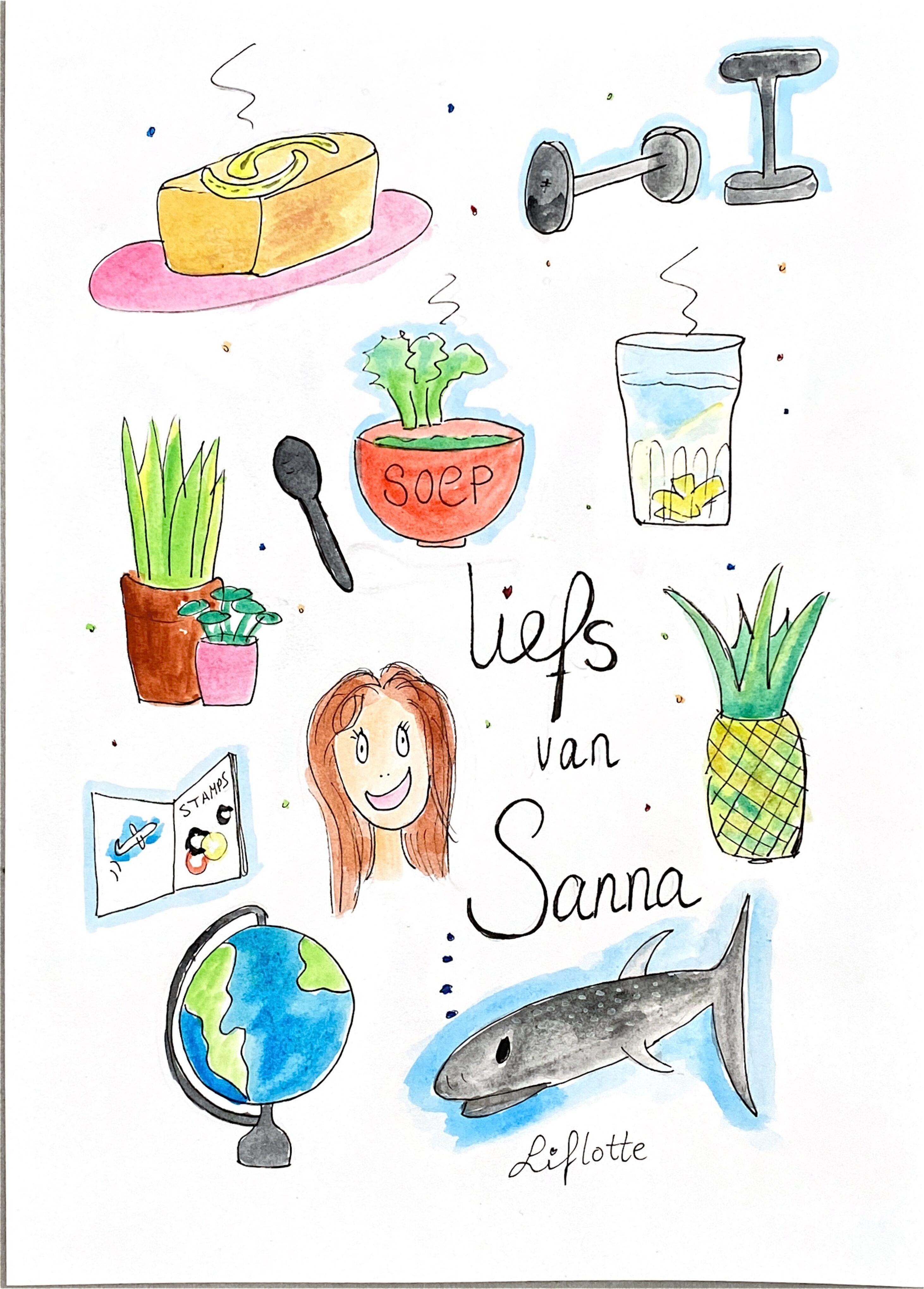 Liflotte favokaart Sanna 2020