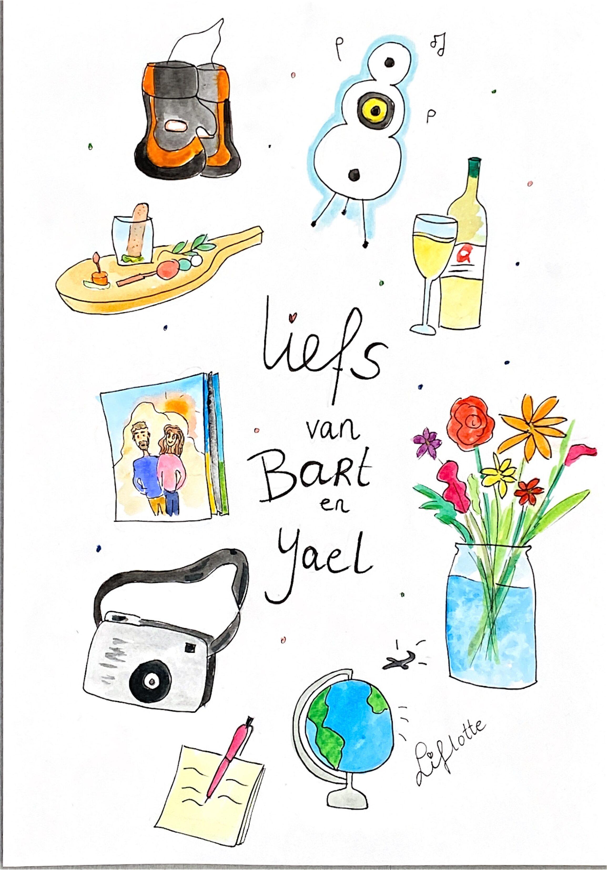 Liflotte favokaart Yael 2020