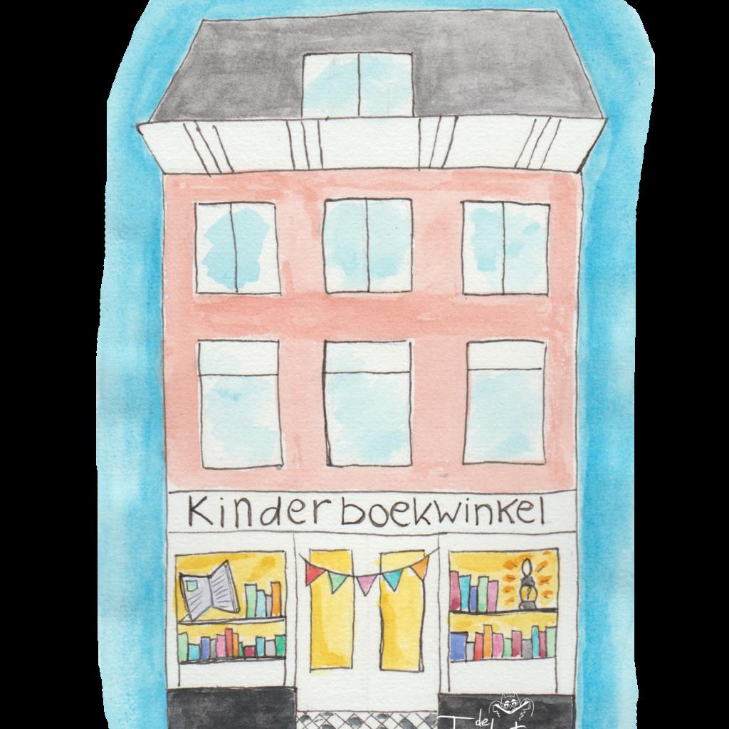 Liflotte logo kinderboekwinkel De Toverlantaarn