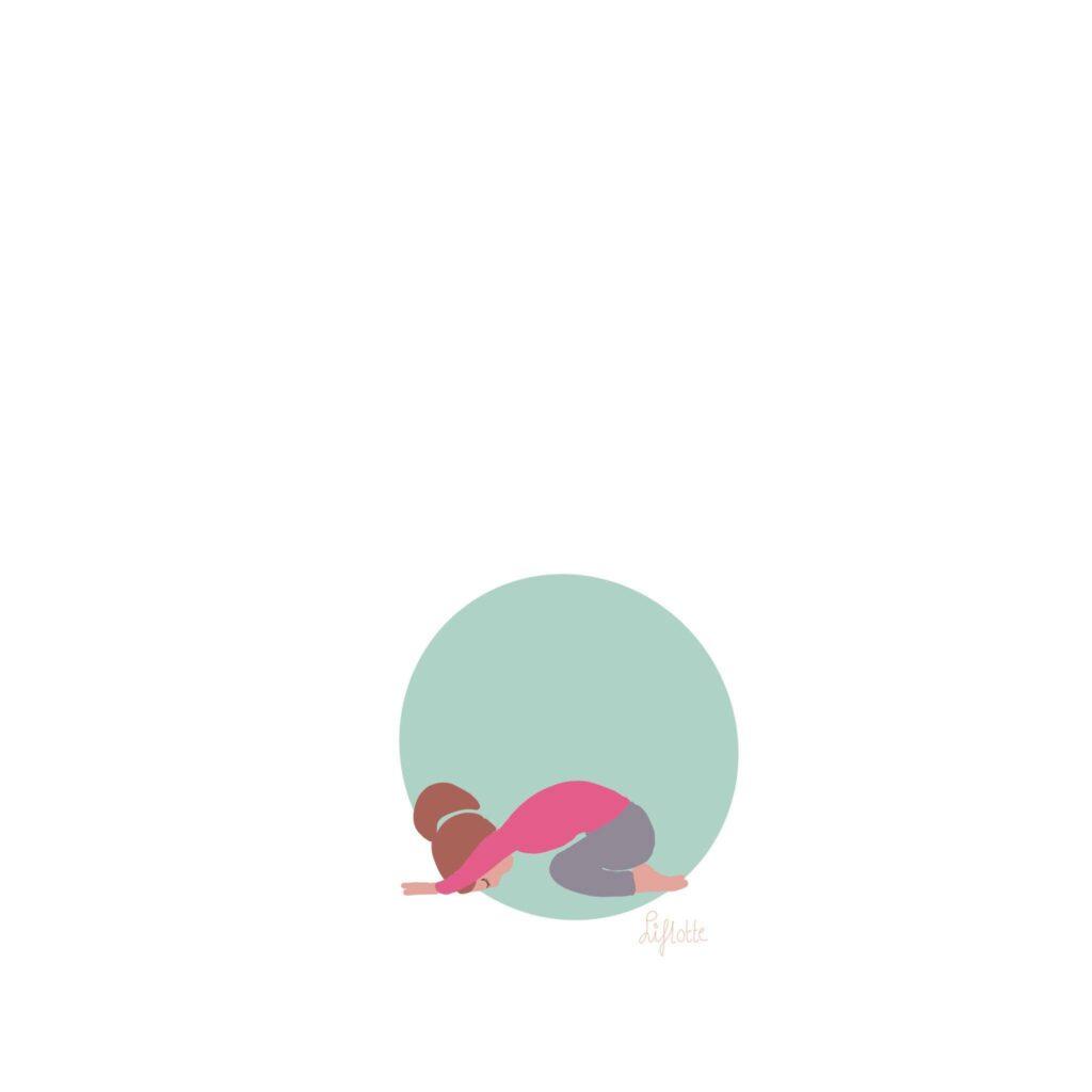 Liflotte yoga childspose