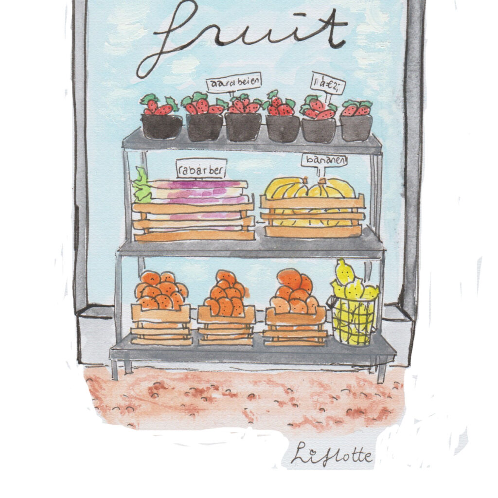 Lifotte fruitkraam Dokkum