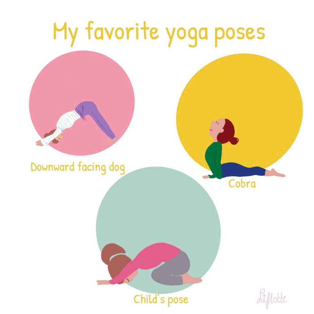 Liflotte yoga poses