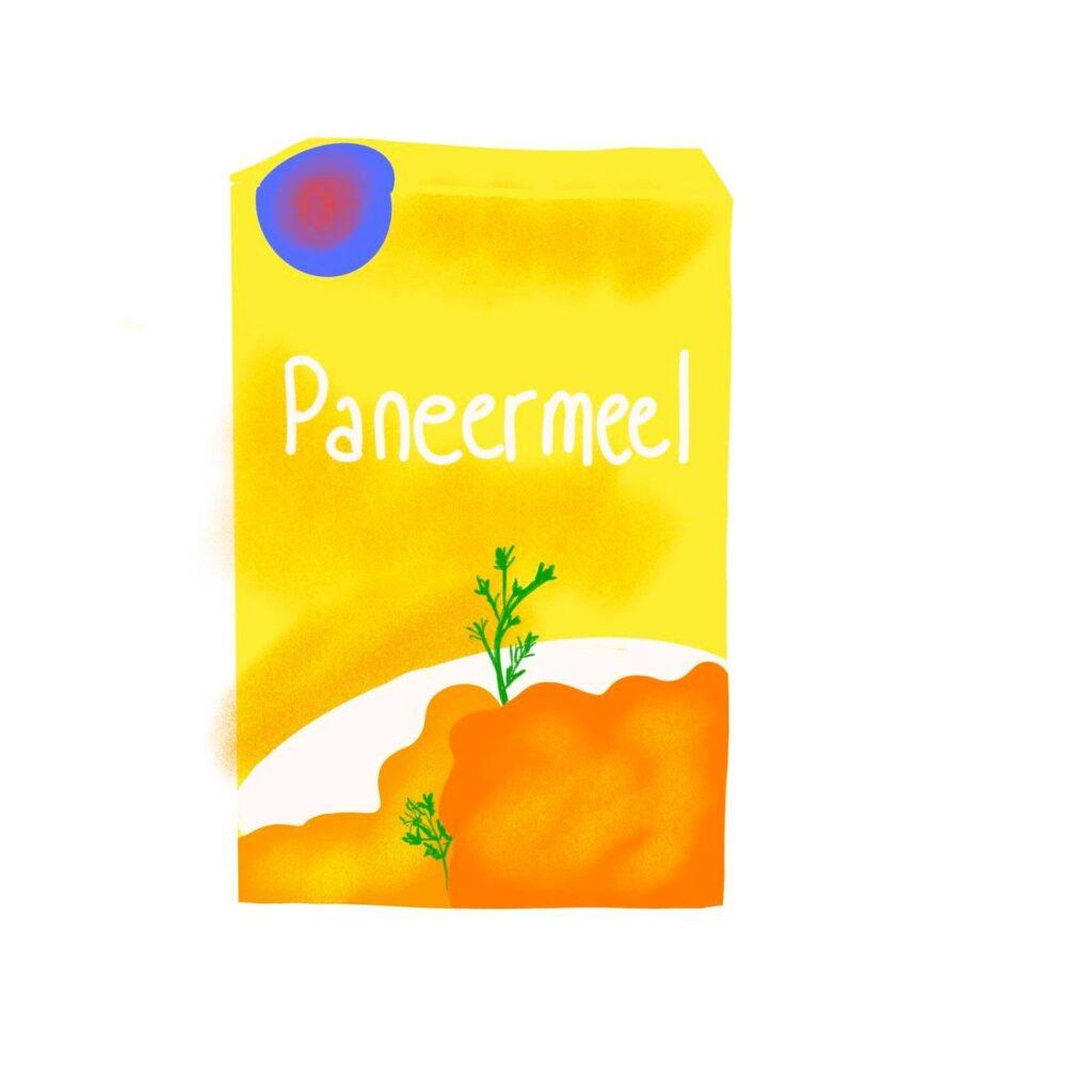 Paneermeel omrin