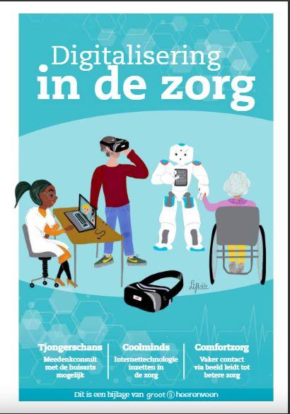 Digitalisering zorg cover