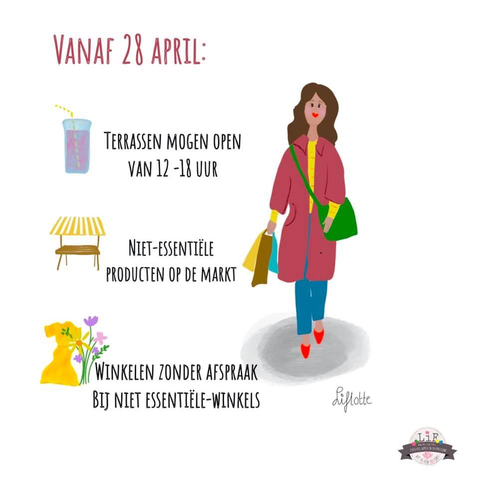 Versoepelingen 28 april
