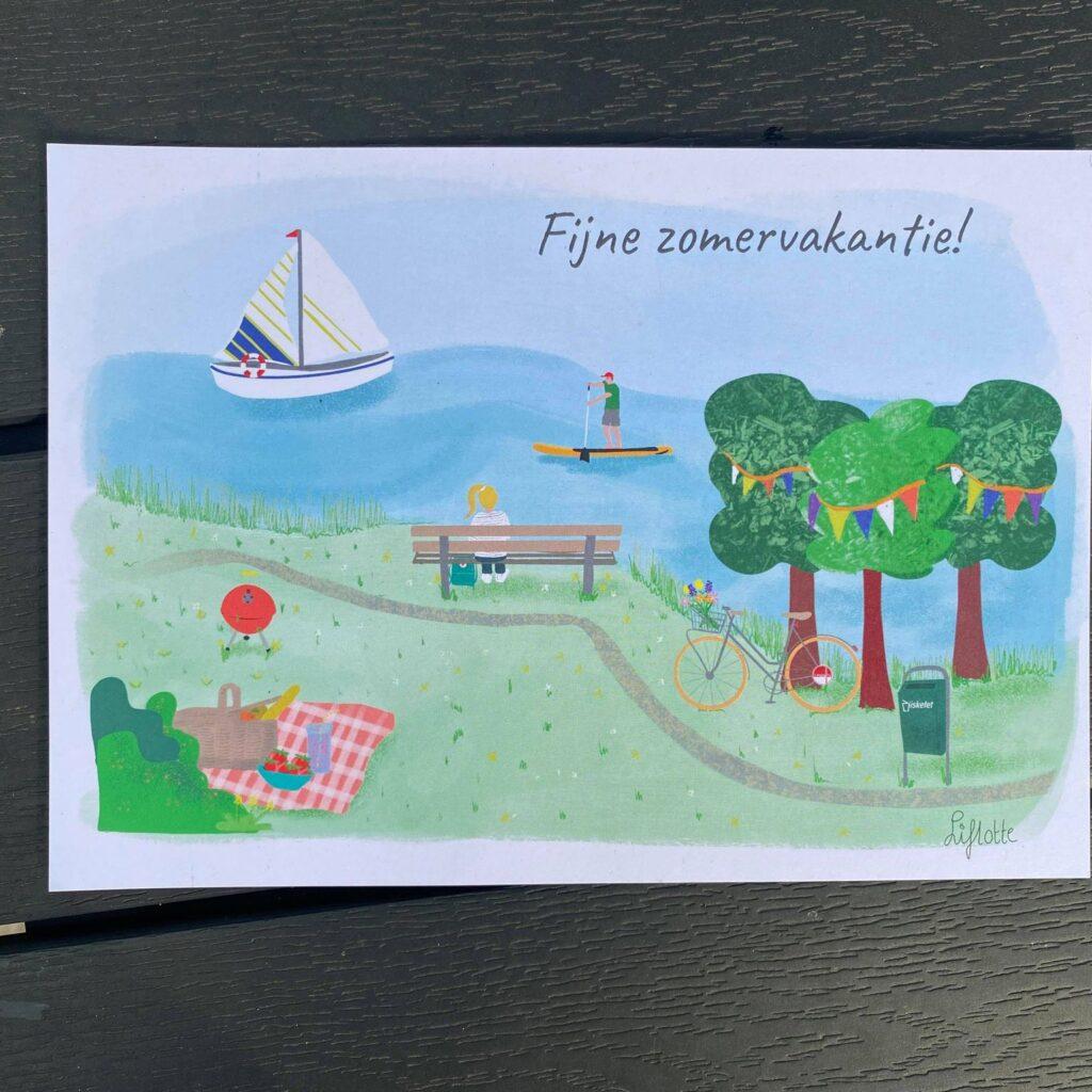 Liflotte Omrin deel 2 kaart