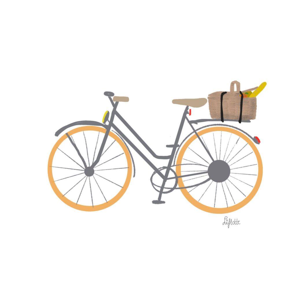 Liflotte omrin deel 2 fiets mandje