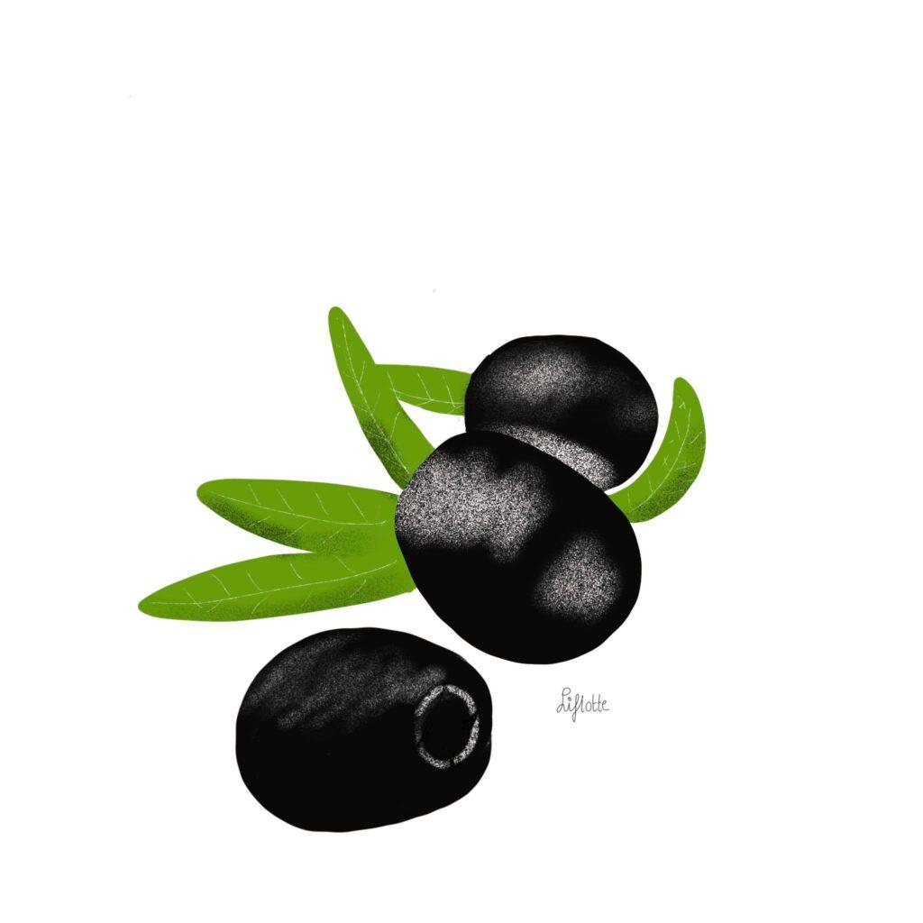 Liflotte omrind deel 2 olijven